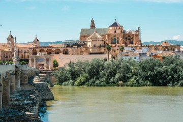 View from the Roman Bridge, Cordoba