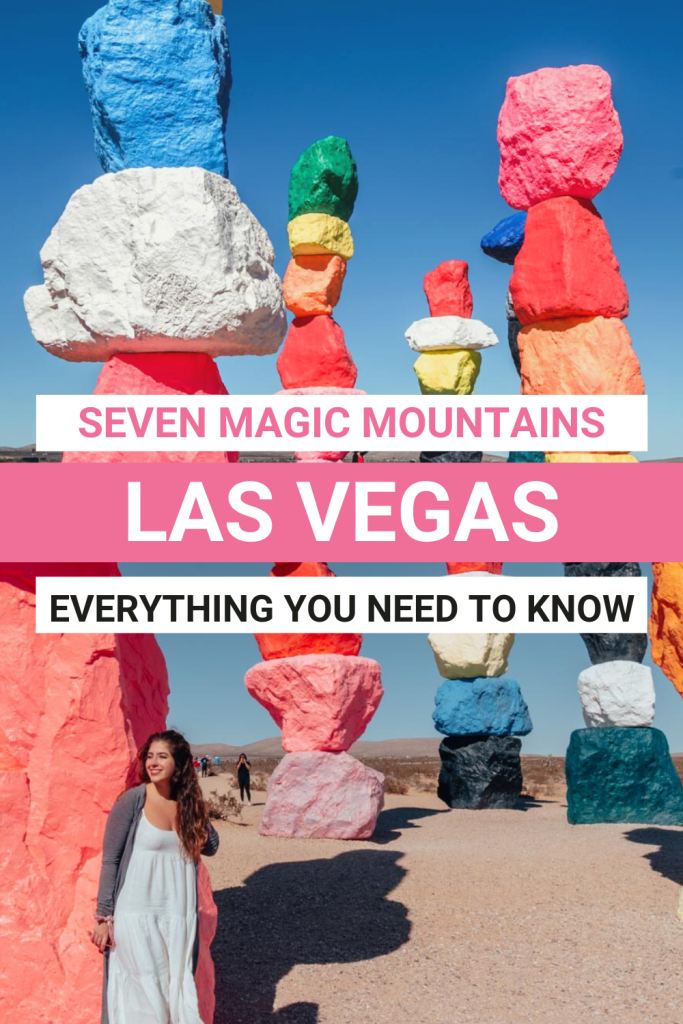 Seven Magic Mountains Las Vegas