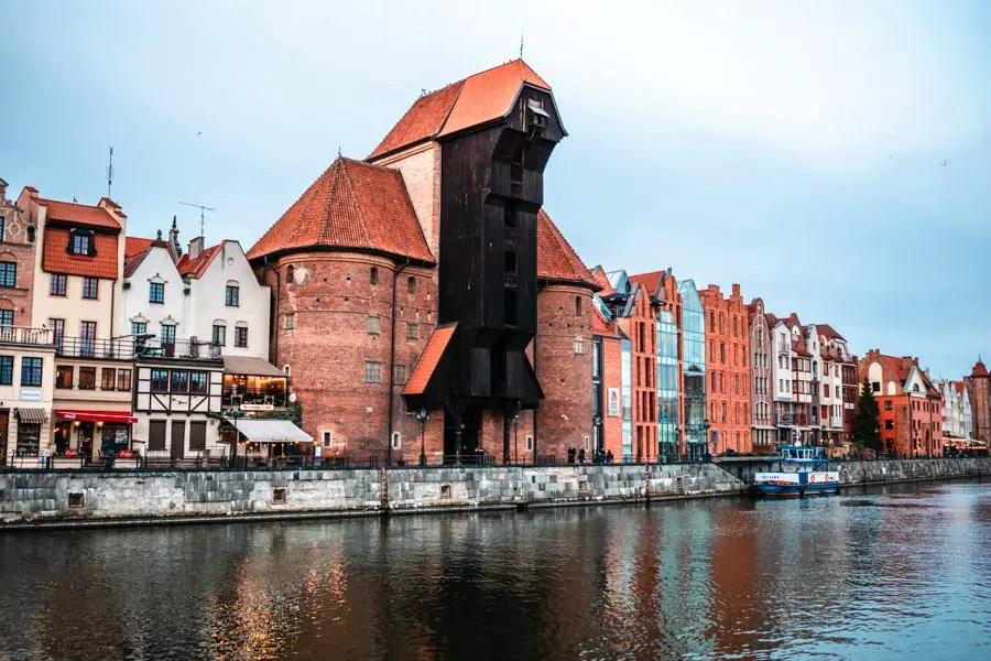 Medieval Old Crane Gdansk