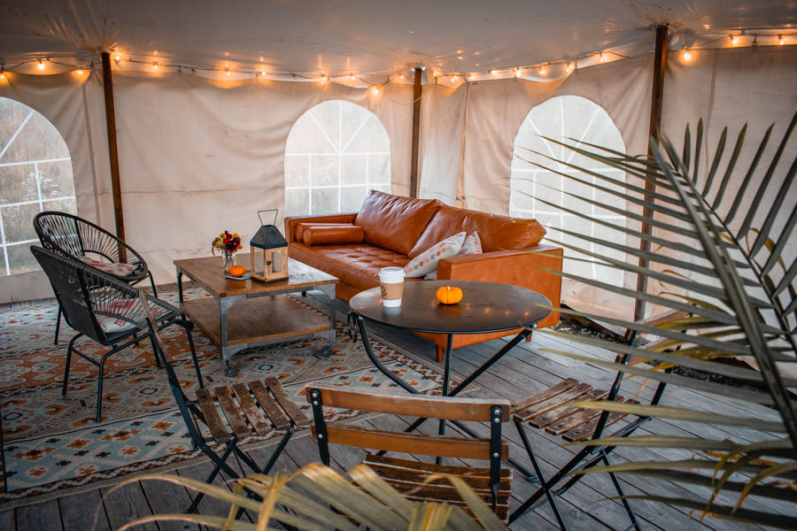 Shared Space Firelight Camps in Ithaca