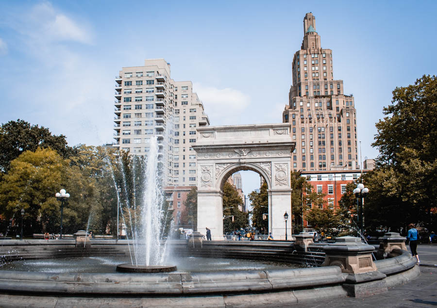 The Best Parks in NYC - Washington Square Park