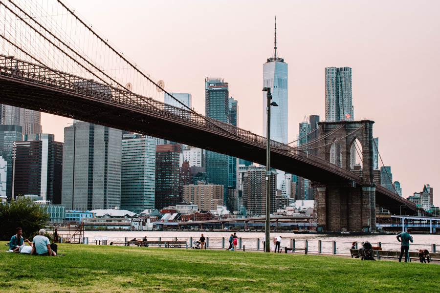 The Best Parks in NYC - Brooklyn Bridge Park