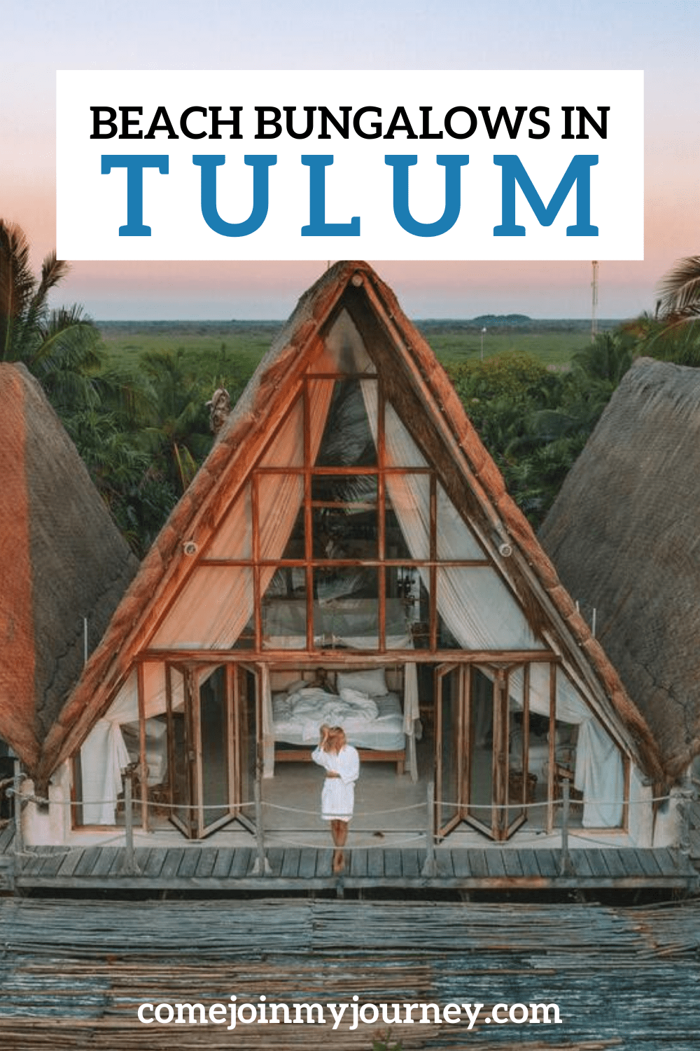 Beach Bungalows in Tulum