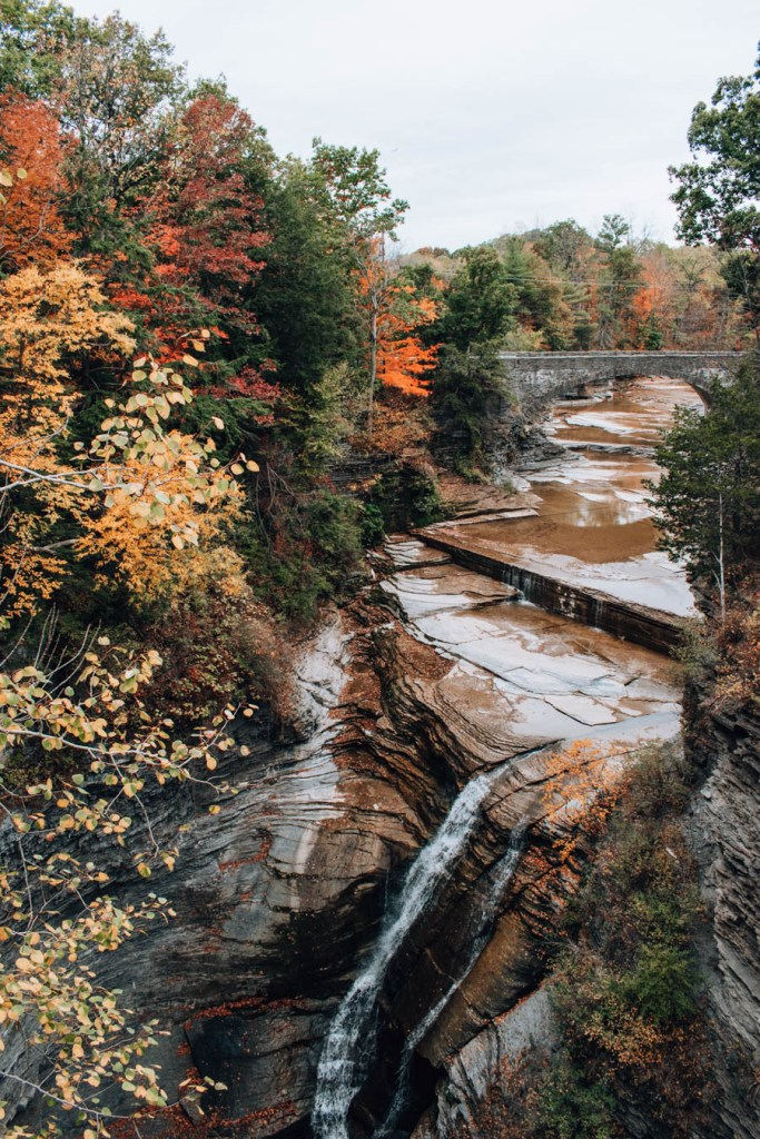 Taughannock Falls State Park Hidden Waterfall
