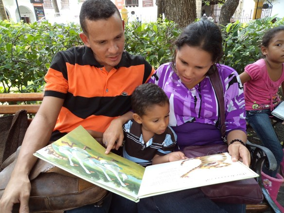 Padres lectores
