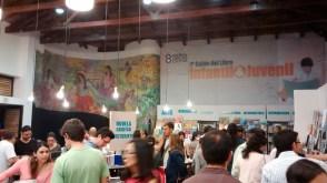 Pabellón infantil en la Fiesta del Libro y la Cultura de Medellín