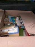 Caja de libros hacia Bahía Solano
