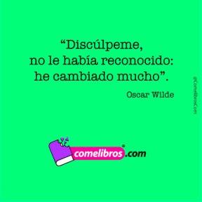 Frase de Oscar Wilde