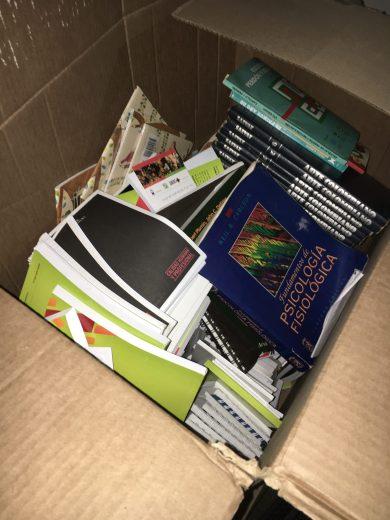 Donación de libros UPB.