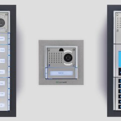 Door Entry Systems Wiring Diagram Avaya Bcm50 Comelit Ikall Entrance Panel | Group Spa