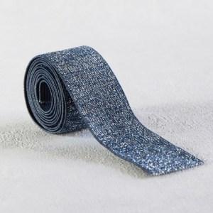 elastique-bleu-lurex-argent-30-mm