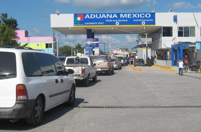 Resultado de imagen para aduana mexico frontera