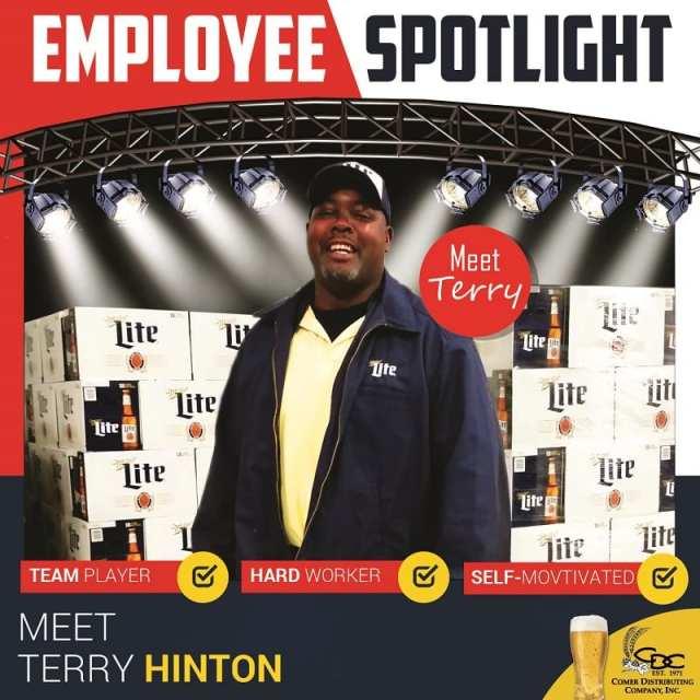 Employee Spotlight_Terry Hinton_Square