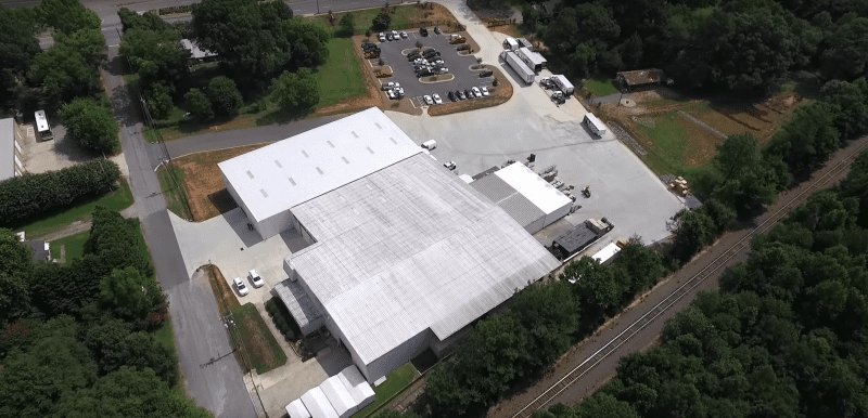 Aerial Warehouse Tour