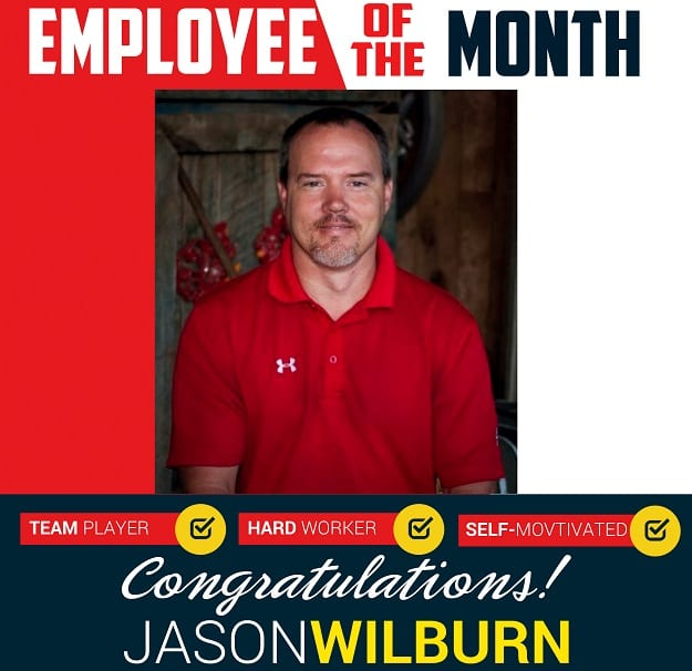Employee of the Month – December 2017