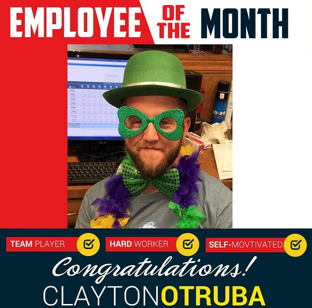 Employee of the Month – July 2018