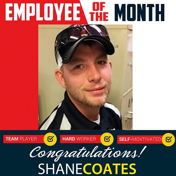 Employee of the Month – November 2018