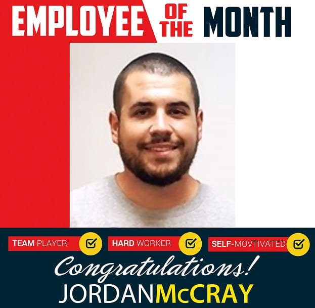 Employee of the Month – April 2019
