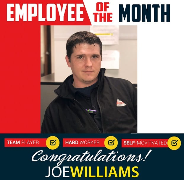 Employee of the Month – January 2020