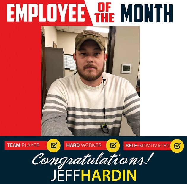 Employee of the Month – February 2020