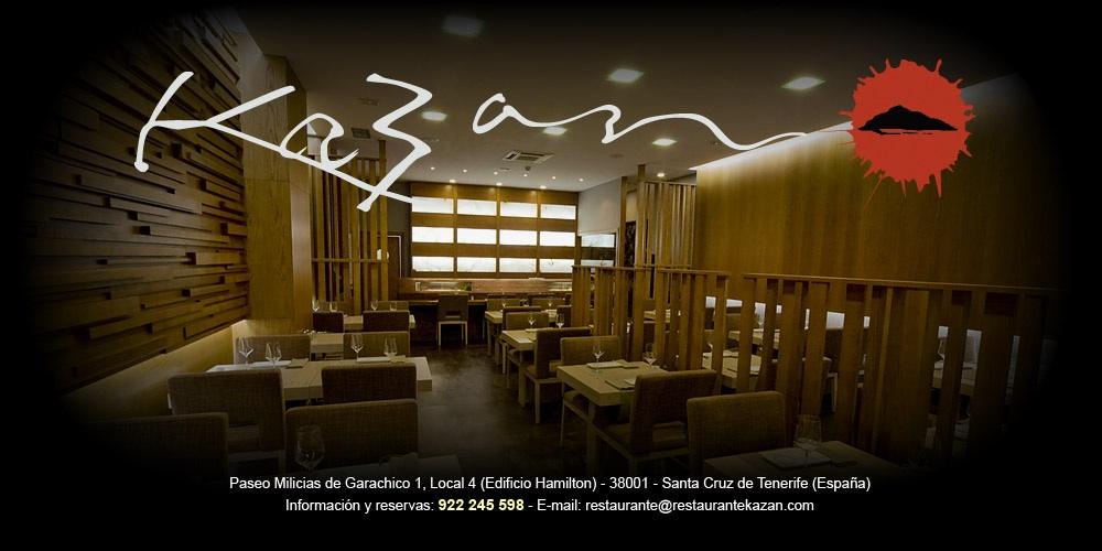 Kazan Restaurante Japons  ComerJaponescom