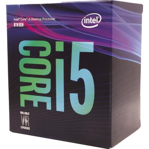 27754 1 - MICROPROCESADOR  INTEL CORE I5-8500 COFFEELAKE S1151 BOX