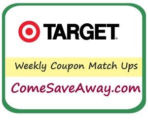 Target Coupon Match up From comesaveaway.com