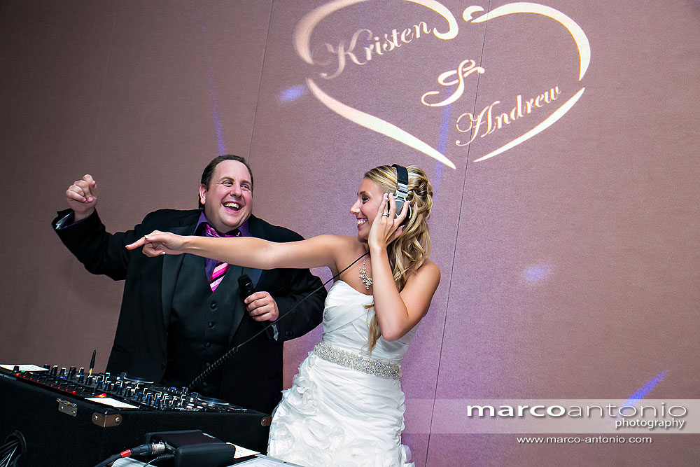 DJ Bride in the house!