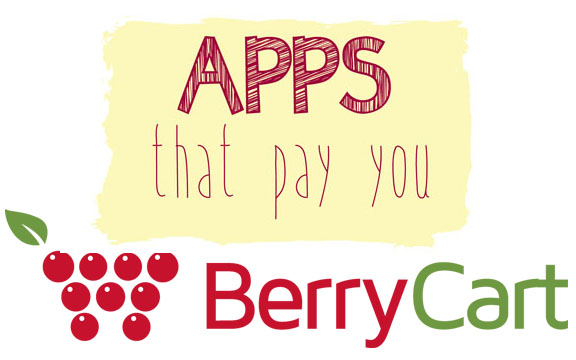 Apps that pay you BerryCart Berry Cart - Come Save Away at comesaveaway.com