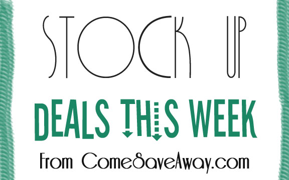 Stock Up Coupon Deals This Week from Come Save Away