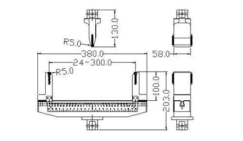 GR-C020 3點抗彎臺 - 廣錸儀器股份有限公司