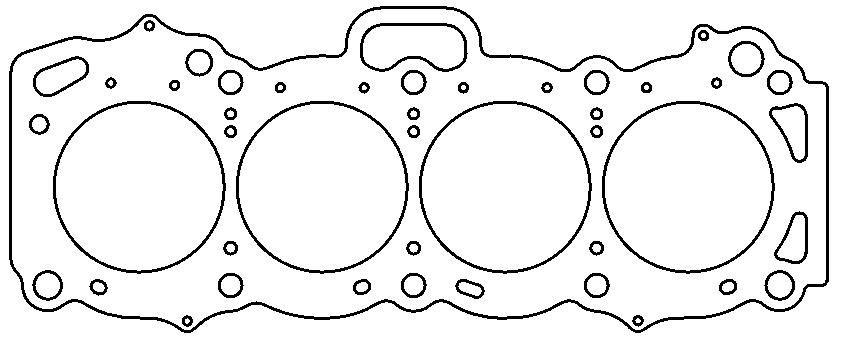 Toyota .120″ MLS Cylinder Head Gasket, 4A-GE/C/LC, 1.6L