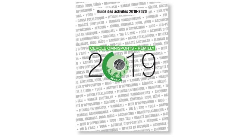 Couverture de la brochure du Cercle Omnisports de Remilly