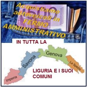 noi acquistiamo auto in fermo amministrativo in Liguria