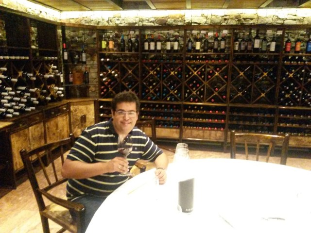 Brazilian sommelier Frederico De Souza works for Ladmadrid winery.