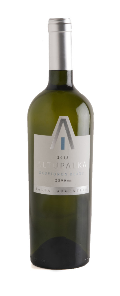 Go green with Altupalka's Sauvignon Blanc.