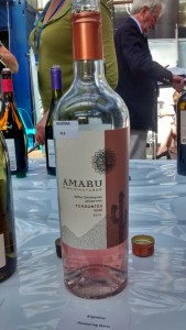 Amaru High Vineyards Torrentés Rosé 2015, El Esteco, Valles Calchaquíes.