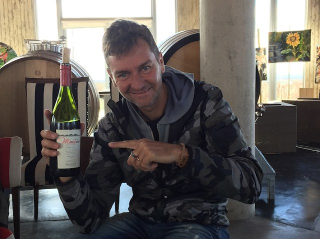 The story behind by Matias Michelini's Montesco Punta Negra Pinot Noir 2014.