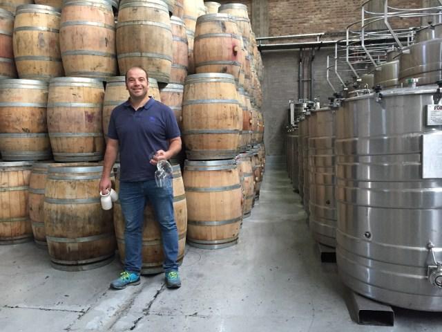 Winemaker Pablo Martorell.