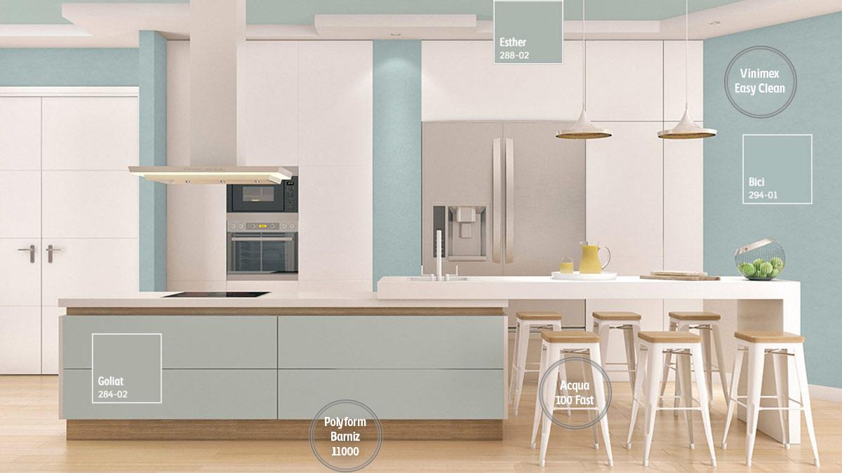 Decoracin de espacios para Cocinas  Comex