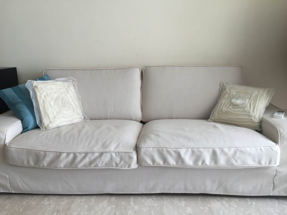 sofa ikea kivik opiniones flexsteel leather power reclining series review comfort works blog design inspirations long skirted slipcovers for the in kino natural fabric by