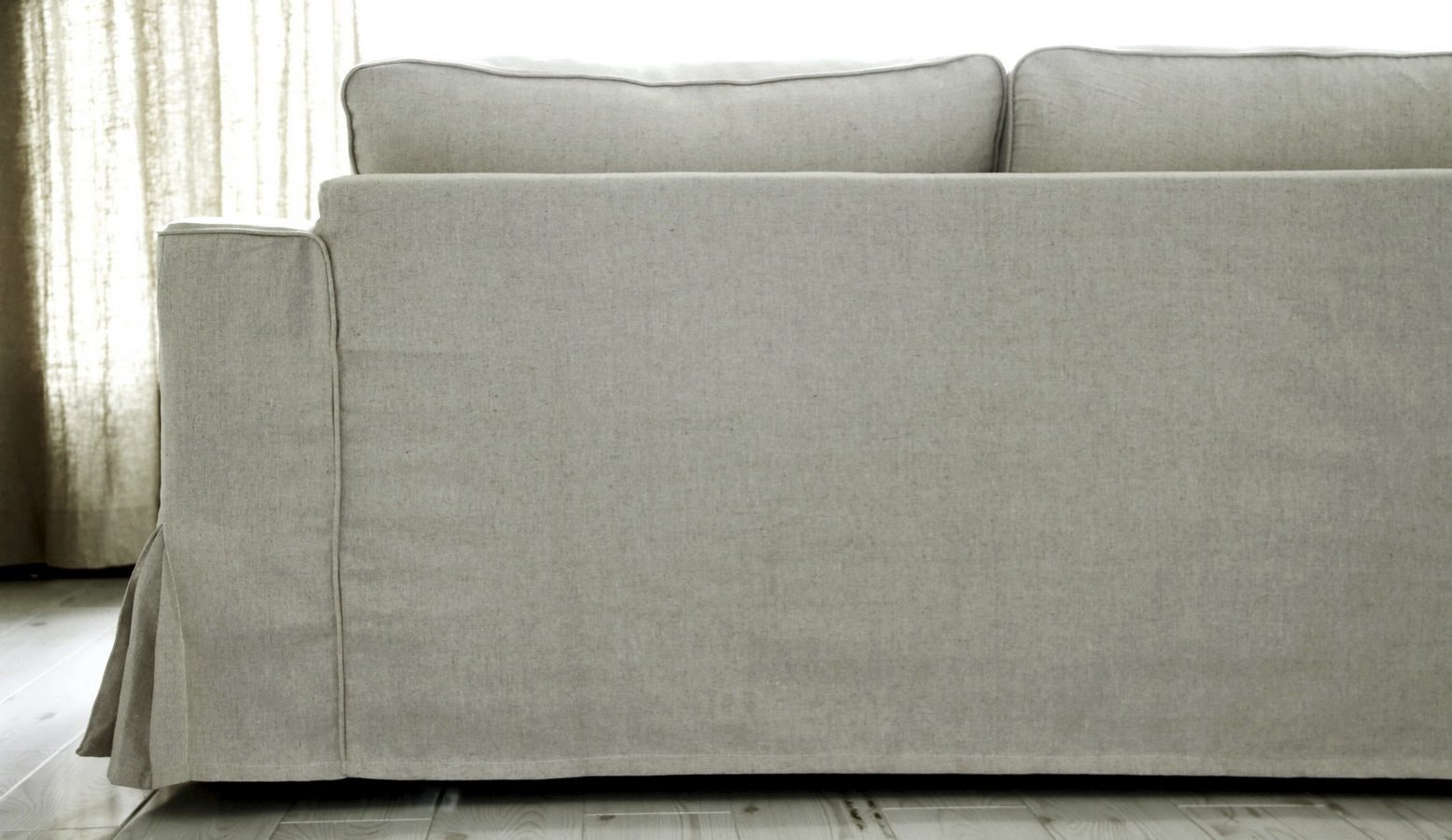 ikea manstad sofa bed cover ashley furniture alenya sleeper loose fit linen slipcovers now available