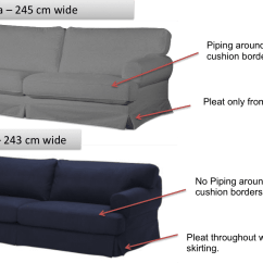 Ikea Hovas Sofa Designs For Lobby Vs Ekeskog Differences Can I Fit The