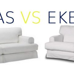 Ikea Ekeskog Sofa Dimensions Courts Review Hovas Vs Differences Can I Fit The Slipcover On If