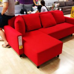 Ikea Rp 3 Seater Sofa Covers Convertible Bed Toronto Red Karlstad From - Thesofa