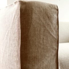 Loose Chair Covers Ikea Office Recliner Spruce Up Your Klippan Sofa Cover In A Linen