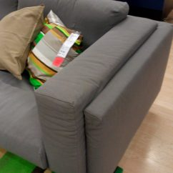 Sofa Arm Rest Cost Of A Ikea Nockeby Review New Couch Series Mid 2014
