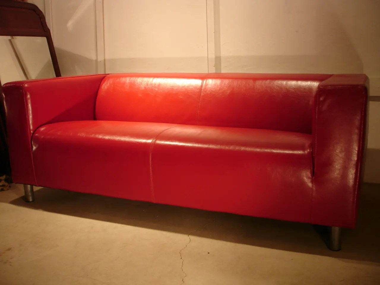faux leather sofa replacement covers fairfield inn bed how to fix my klippan sofa: will ...
