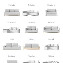 Manstad Sofa Bed Covers Replace Cushions With Memory Foam Replacement Ikea For Discontinued Couch ...
