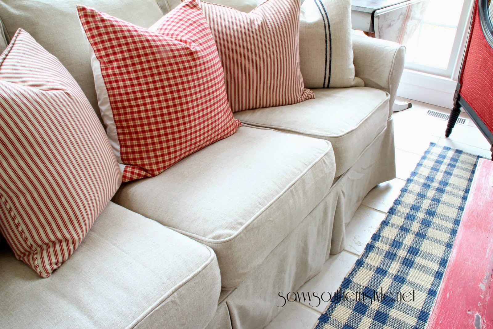 pottery barn slipcover chair and a half accent sets custom slipcovers couch cover for any sofa online